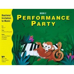 Performance Party Book C (Bastiens Invitation To Music)