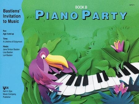 View larger image of Piano Party Book B (Bastiens Invitation To Music)