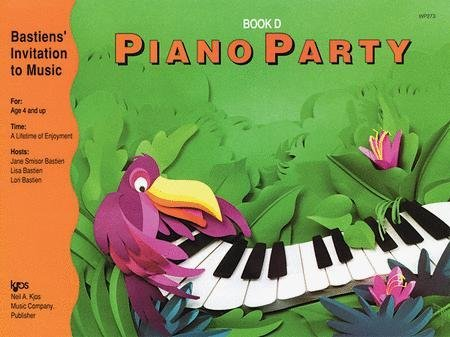 View larger image of Piano Party Book D (Bastiens Invitation To Music)