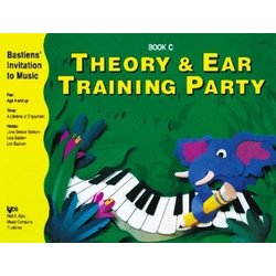 Theory & Ear Training Party Book C (Bastiens Invitation To Music)