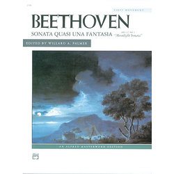 Moonlight Sonata Opus 27 No.2 - First Movement (Beethoven)