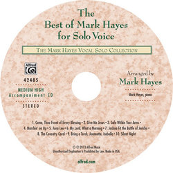 Best of Mark Hayes for Solo Voice - Med High