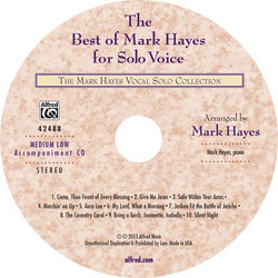 Best of Mark Hayes for Solo Voice - Med Low - Accomp C