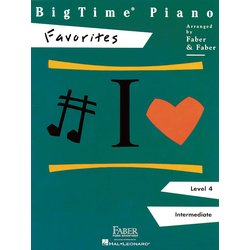 BigTime Piano Level 4 - Favorites