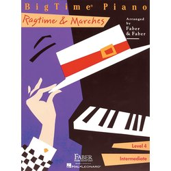 BigTime Piano Level 4 - Ragtime & Marches