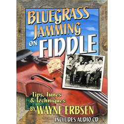 Music Bluegrass Jamming on Fiddle w/CD