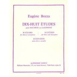 18 Etudes for Oboe and Saxophone