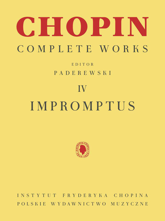 View larger image of Chopin Impromptus: Complete Works, Volume 4 (PA)