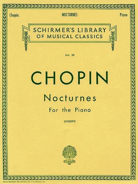 View larger image of Nocturnes - Schirmer's Library of Classics Volume 30 (Chopin)