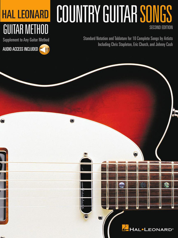 View larger image of Country Guitar Songs - 2nd Edition