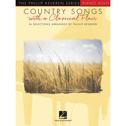 Country Songs with a Classical Flair - Piano
