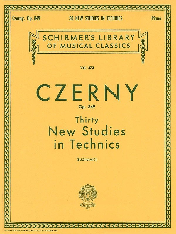 View larger image of Thirty New Studies In Technics, OP. 849 (Czerny)