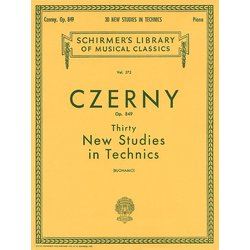 Thirty New Studies In Technics, OP. 849 (Czerny)