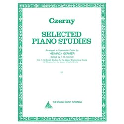 Selected Piano Studies Vol.1 (Czerny)