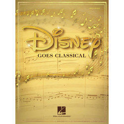 Disney Goes Classical - Piano/Vocal/Guitar Songbook