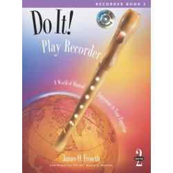 Do It! Play Recorder - Book 2 w/CD