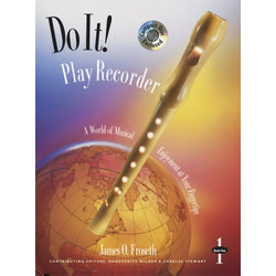 Do It Play Recorder w/CD