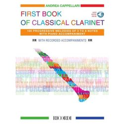 Music First Book of Classical Clarinet w/Online Audio