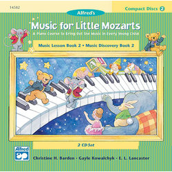 Music for Little Mozart's: CD 2-Disk Sets for Lesson and Discovery Books, Level 2