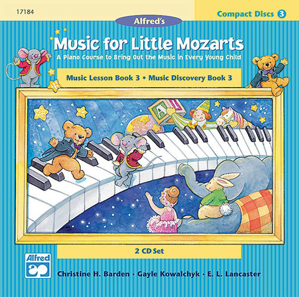 View larger image of Music for Little Mozarts: CD 2-Disk Sets for Lesson and Discovery Books, Level 3