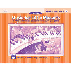 Music for Little Mozart's: Flash Cards, Level 1