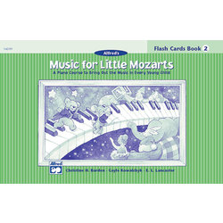 Music for Little Mozart's: Flash Cards, Level 2