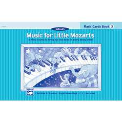 Music for Little Mozart's: Flash Cards, Level 3