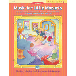 Music for Little Mozart's: Music Discovery Book 1