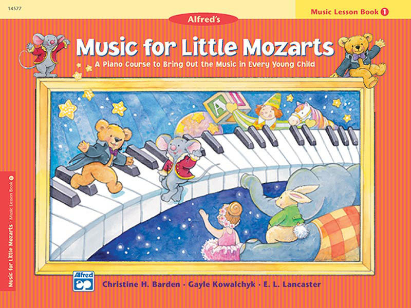 View larger image of Music for Little Mozart's: Music Lesson Book 1