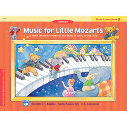 Music for Little Mozart's: Music Lesson Book 1