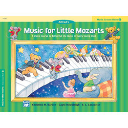 Music for Little Mozart's: Music Lesson Book 2