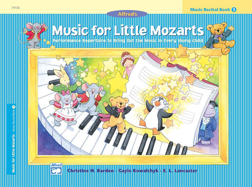 View larger image of Music for Little Mozarts: Music Recital Book 3