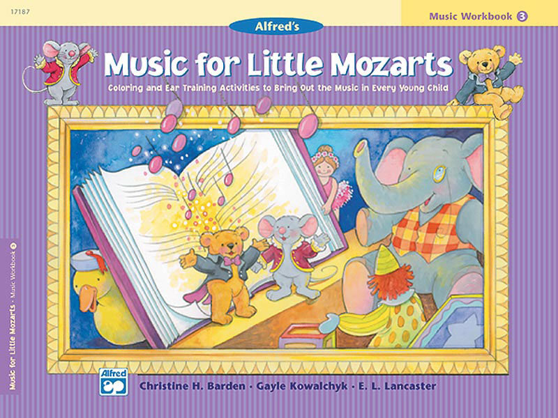 View larger image of Music for Little Mozarts: Music Workbook 4