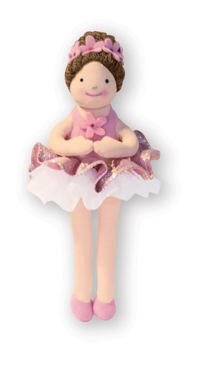 View larger image of Music for Little Mozarts: Plush Toy - Nina Ballerina