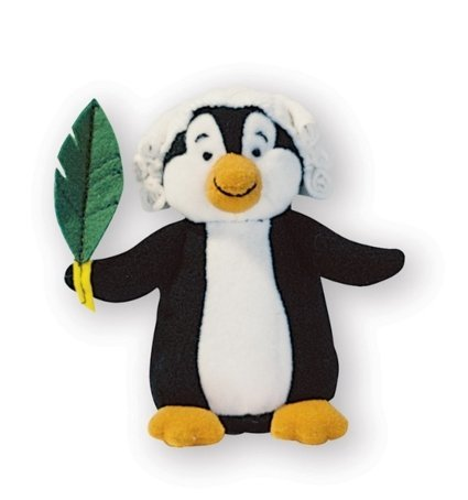 View larger image of Music for Little Mozarts: Plush Toy - Pachelbel Penguin