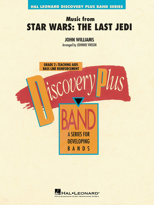 View larger image of Music from Star Wars: The Last Jedi - Score & Parts, Grade 2