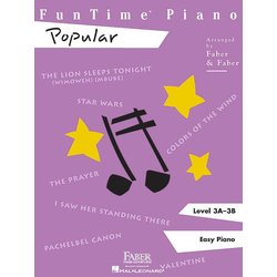 FunTime Piano Level 3A-3B - Popular (RCM Pop 1)