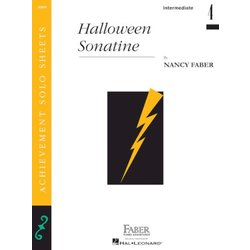 Halloween Sonatine (Intermediate/Level 4) - Piano Solo