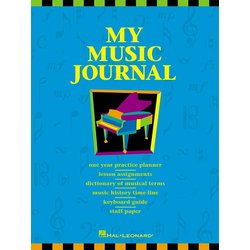 Music HLSPL My Music Journal - Student Assignment Book