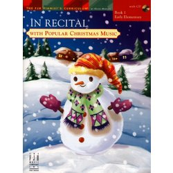 Music In Recital with Popular Christmas Music Book 1