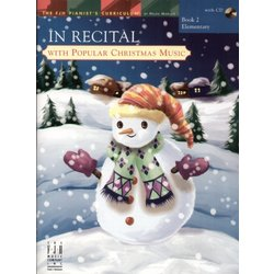 Music In Recital with Popular Christmas Music Book 2
