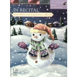 Music In Recital with Popular Christmas Music - Book 3