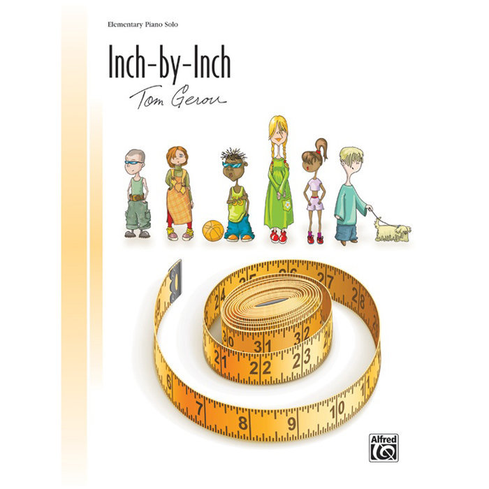 View larger image of Inch by Inch - Elementary, Piano