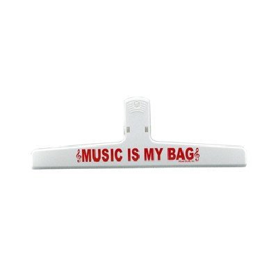View larger image of Music is my Bag Keep-It-Clip - Large