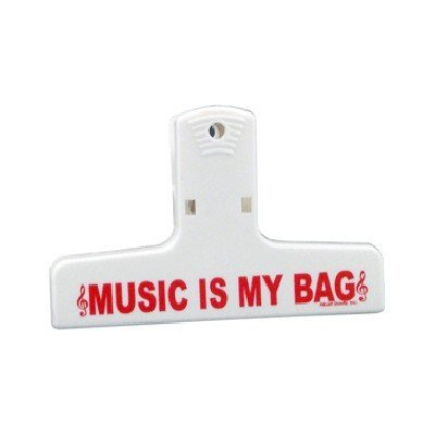 View larger image of Music is my Bag Keep-It-Clip - Medium