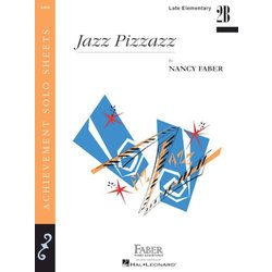 Jazz Pizzazz (Late Elementary/Level 2B) - Piano Solo