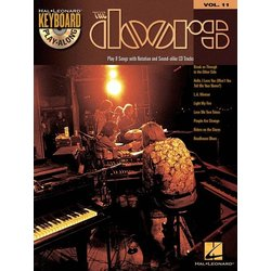 The Doors - Keyboard Play-Along Volume 11 w/CD