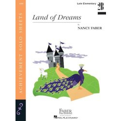Land of Dreams (Late Elementary/Level 2B) - Piano Solo