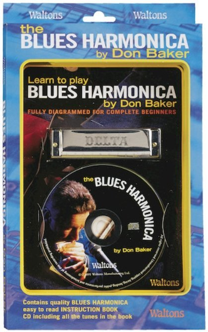 View larger image of Learn to Play Blues Harmonica w/CD