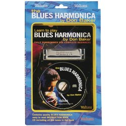 Learn to Play Blues Harmonica w/CD